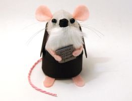 Charles Darwin Mouse by The-House-of-Mouse