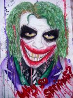 Why so serious? by Xanthiya