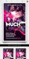 So Much Love Flyer Template by EAMejia