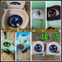 Custom Fursuit Eye Auction by TomorrowsBadSeeds