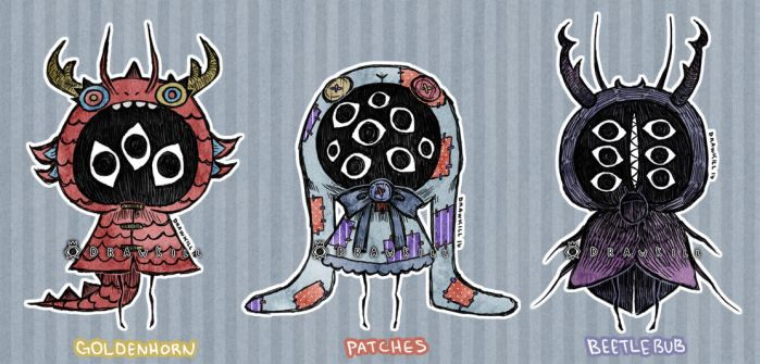 Eyeball Puppet Adopts 2! [CLOSED] by DrawKill