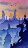 Watercolour Concept 2 by Kuvari