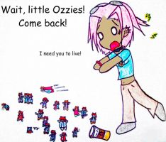 Come Back Little Ozzies by InTheShadowsOTheMoon