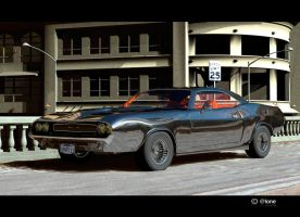 Dodge Challenger 1970 by Serial-brycer