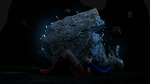 Supergirl - Electric earthquake by rustedpeaces