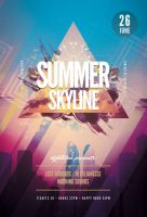 Summer Skyline Flyer by styleWish