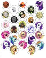 button designs by CantoChi