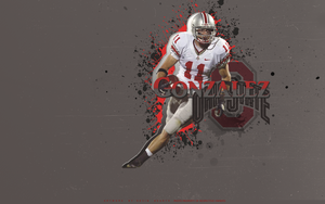 Anthony Gonzalez Wallpaper by KevinsGraphics