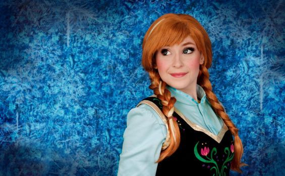 Anna of Arendelle by NikitaCosplay
