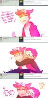 Askyoutubers Question#2:Piggyback ride[speedpaint] by ChloesImagination