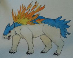 Typhlosion by Animal-Amans