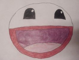 Electrode's Awesome Face by AuraShaman