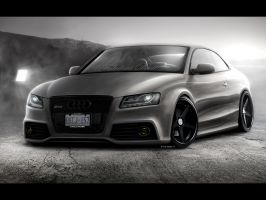 Audi RS5 Shadowline by evisdesign