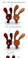 Blood bunny comic - Ears by Joakaha