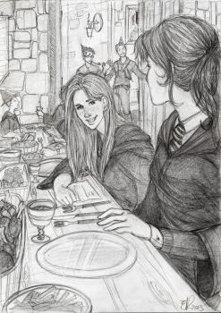 Hermione's Birthday Surprise by Catching-Smoke