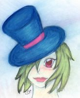 sailorsamus in a top hat by sailorsamus
