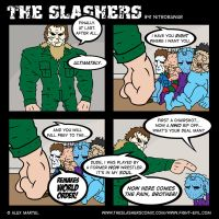The Slashers 41 by crashdummie