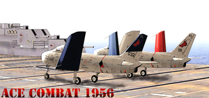 Ace Combat 1956: Carrier Op by RadPig94