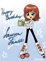 Happy Birthday Lauren Faust! by johnjoseco