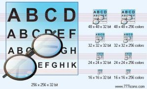 Eye-chart Icon by medical-icon-set