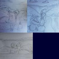 hw-sketches by Scarlet2Summer