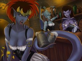 Avalon Clan Bar Scene 1 by SunsetRiders7