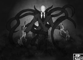 Slenderman - Commission for Nathan by Hao-76