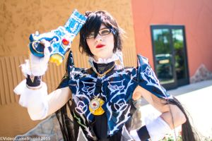 ColossalCon 2015 - Bayonetta(PS) 04 by VideoGameStupid