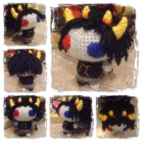 Chibi Sollux Plushie from Homestuck by Art-in-motion-1