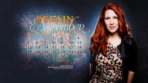 November 2012: Charlotte Wessels, Delain by brockscence
