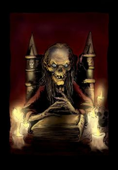 The Crypt Keeper -colours- by memoriesofnam