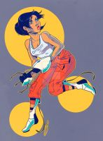 Chell by Cola82