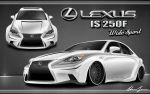 2013 Lexus IS 250F Wide Sport by Swift-Money