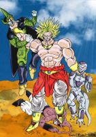 Broly - The Baddest of the Bad by dragonballdeviants