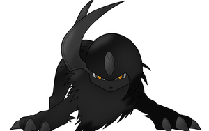 Absol Mod 3 Blacky by WhiteWolfBlanca