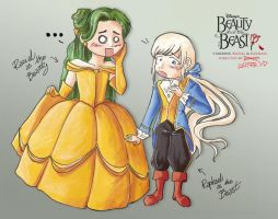 beauty and the beast. by Kairisia