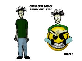 Banjo song character design by stranger-than-me