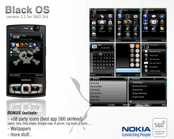Black.OS Theme v1.4 for S60 by onozendai
