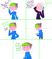 Quick Jelix comic Phone call by ChloesImagination