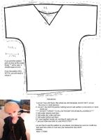 60 cm BJD shirt pattern by katiefoss