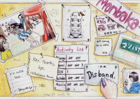 Manbaka Assignment Board by Ringo-Mikan
