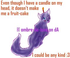 candle-icious by ombre-de-lune