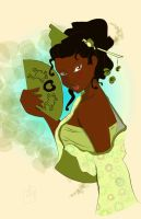 Tiana as a  geisha by TeeterDance