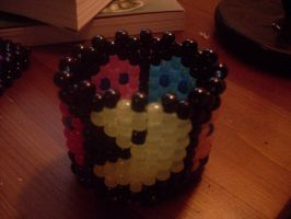 Pac Man glow-in-the-dark cuff by manga-artist-414