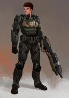 ODST by leonwoon