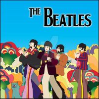 The Beatles Cd cover poster filecover by medek1