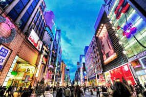 Ginza by Morrisjohnjohnuy