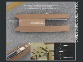 Cardboard Gun by subtle-design