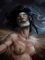 The Woman Crow by Numenoriano