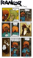 Rankor Chronicles: 135th page by SandraMJ